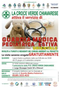 Locandina Guardia Medica Pediatrica 2016