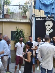 Foto inaugurazione club Entella