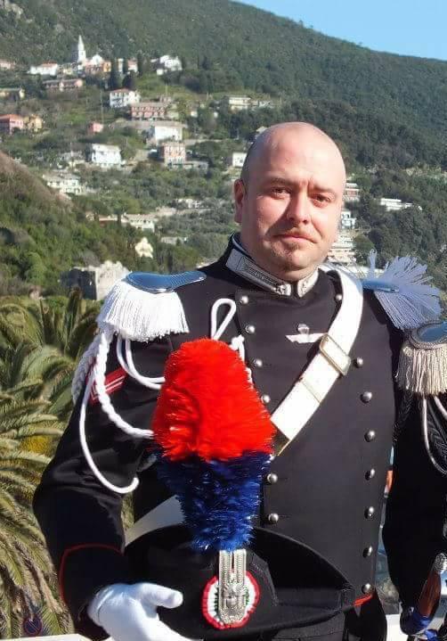 Enrico Armanino, appuntato scelto