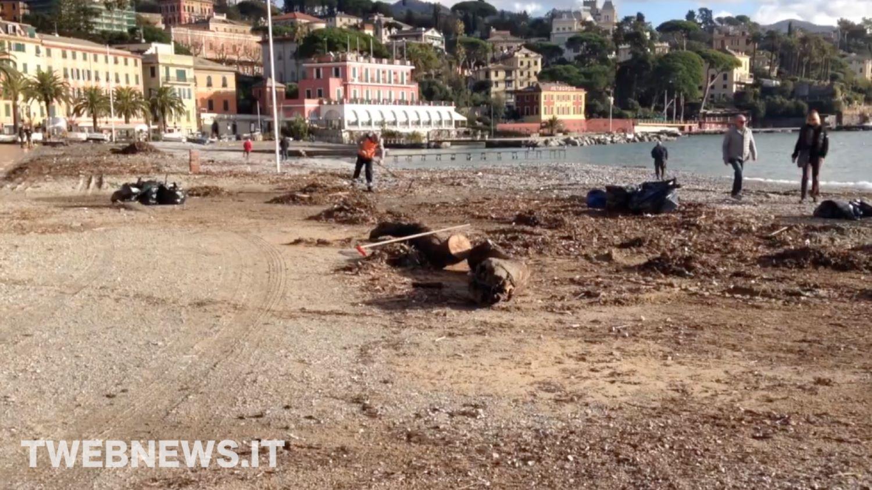 Santa margherita ligure continuano i lavori di pulizia - Pulizia casa dopo lavori ...