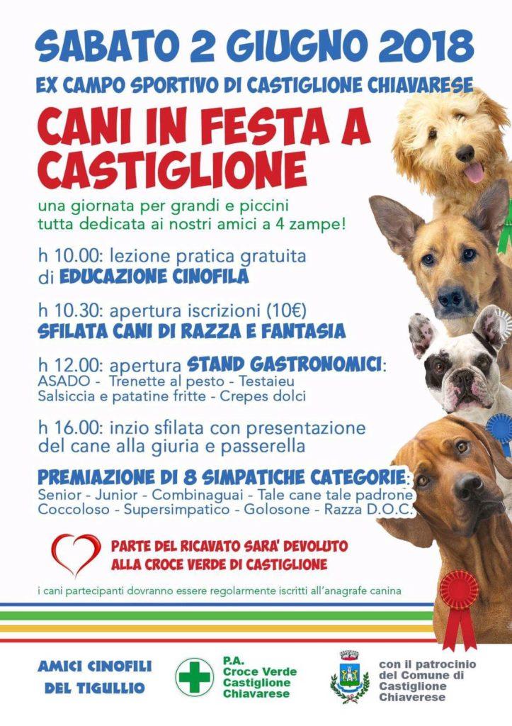 cani in festa castiglione croce verde