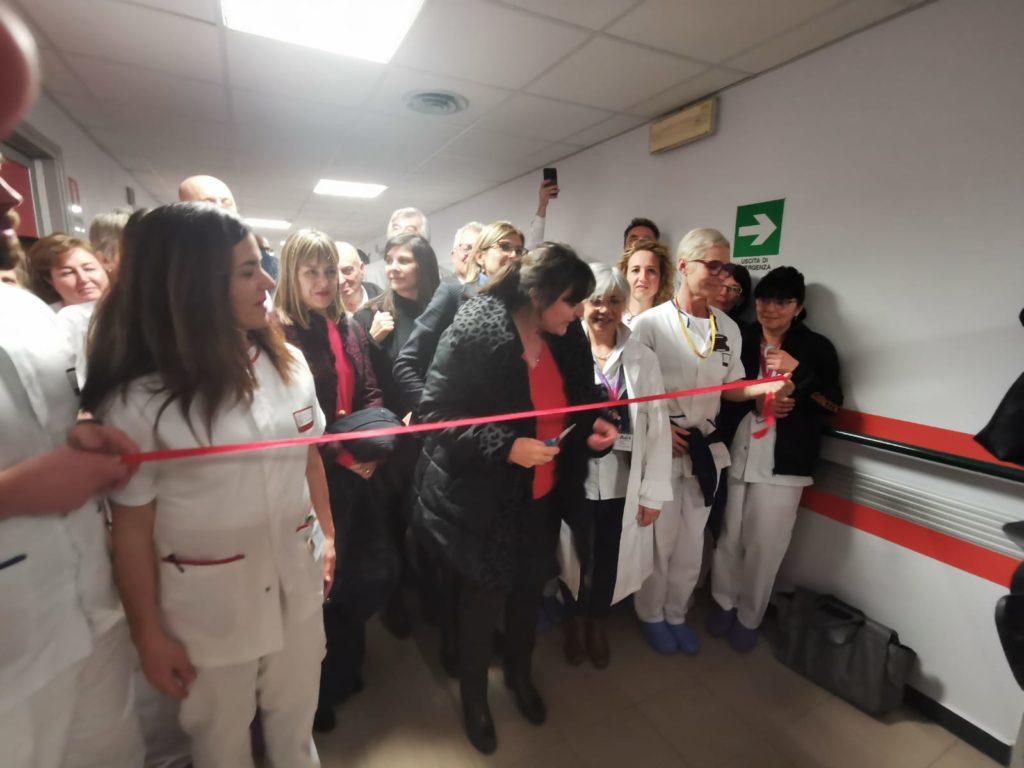 nastro inaugurazione reparto infermieristico ospedale sestri